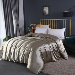 Chinese 100 Percent Silk Queen Size Single Bed Sheets