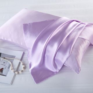 100 Mulberry Silk Satin Sleep Pillowcase for Skin