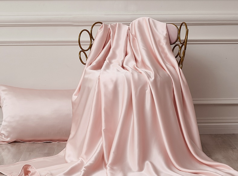 Silk Mulberry Bed Comforter Pink Sheets